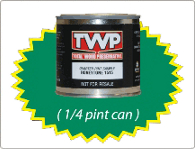 TWP stain sample