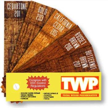 Twp Fan Decks Twp Stain Amp Sikkens Stain Official Dealer