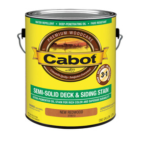 Cabot Semi Solid Deck and Siding Stain