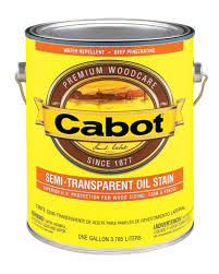 Cabot Semi Transparent Deck and Siding Stain