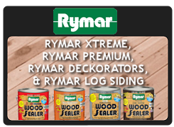 RYMAR XTREME, PRMAR PRMIUM, RYMAR DEKORATORS, RYMAR LOG SIDING WOOD SEALERS