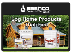 chinking, sashco, wood rot, log homes, log home, diy