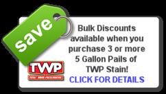 TWP, 100, 200, 1500 series, bulk discount, contractors pricing