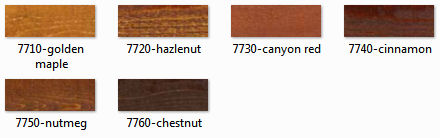 rymar log and siding color chart