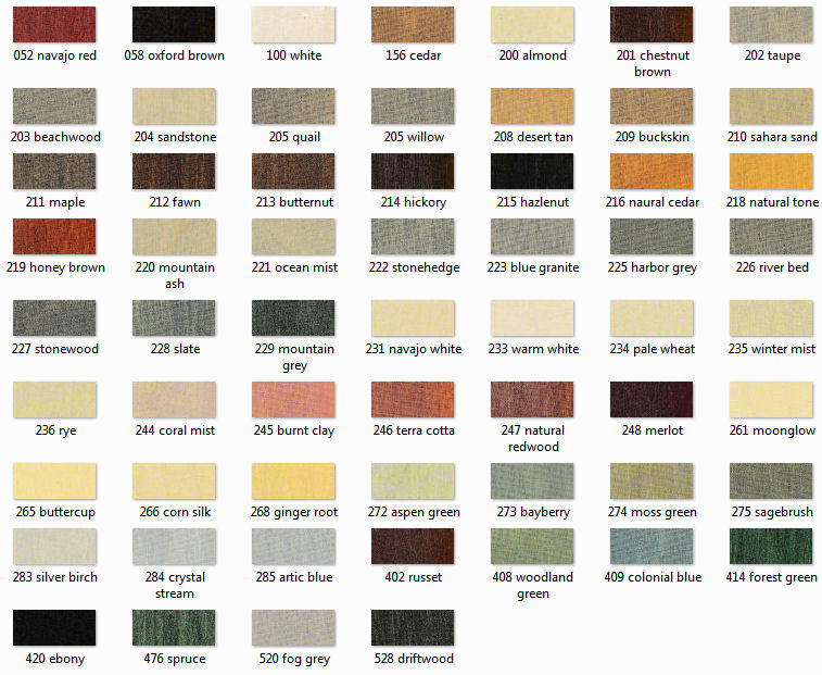 Color Chart For Sikkens Proluxe Srd Semi Transpa Water Based Stain Semitranspa