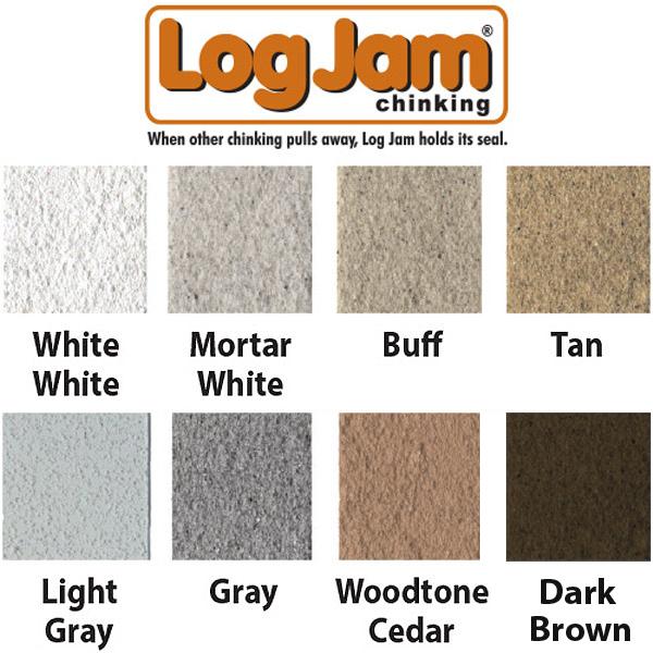 Log Jam, Chinking, Sashco
