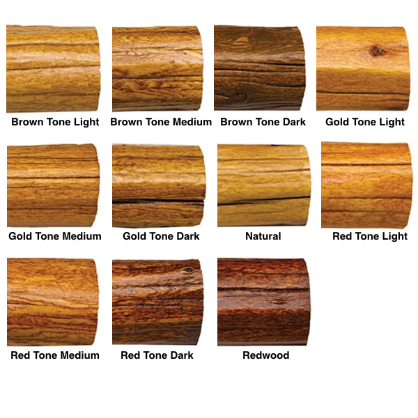 TRANSFORMATION STAIN COLOR OPTIONS