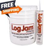 log jam chinking wood rot sashco sikkens