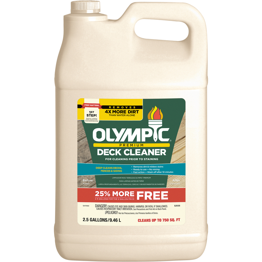 Olympic Deck Cleaner Trex Twp