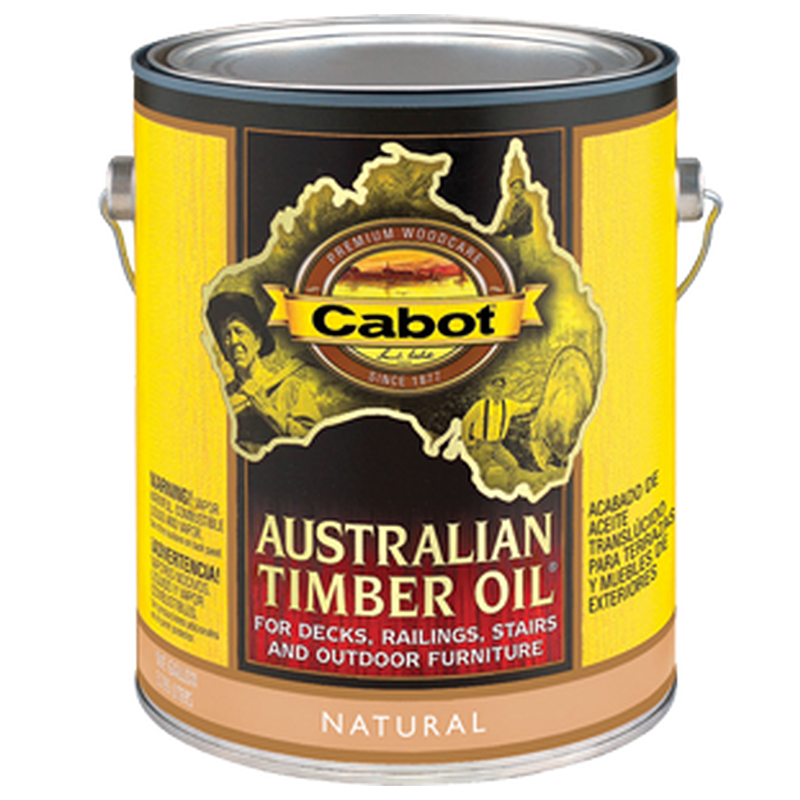 Cabot Stain Australian Timber Oil 1 Gallon Pail Twp